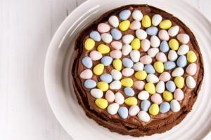 easter nest cake 6