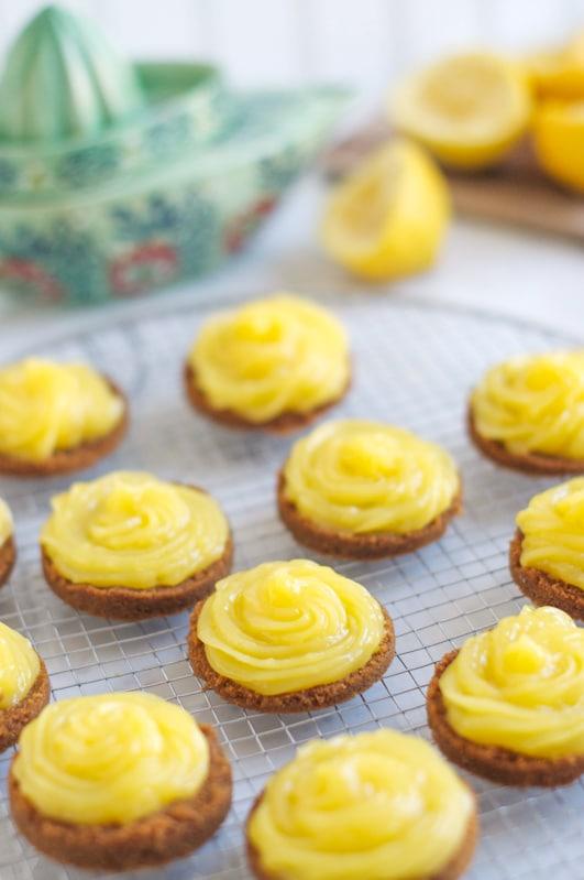 lemon curd tartelettes 20