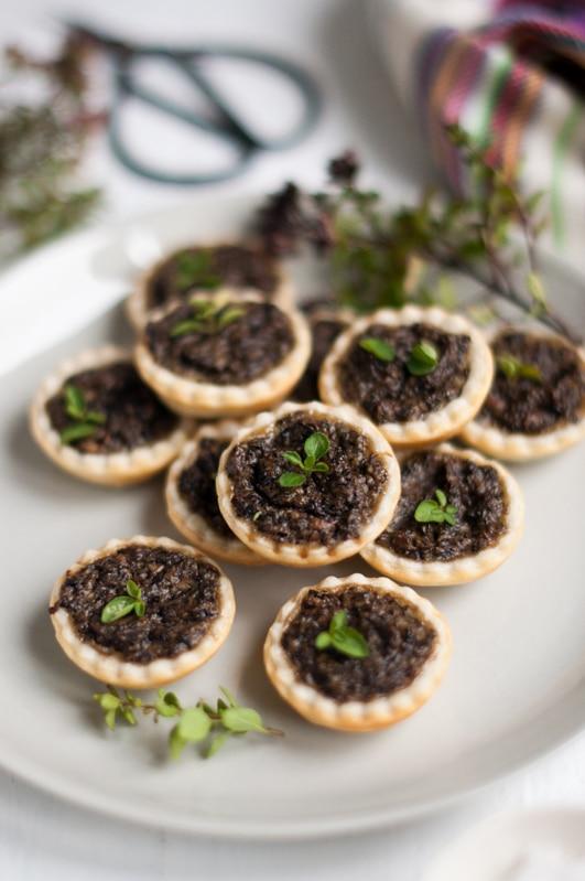 mushroom tarts 12