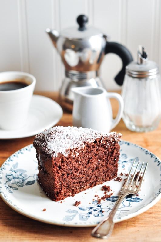 chocolate coconut cake 2