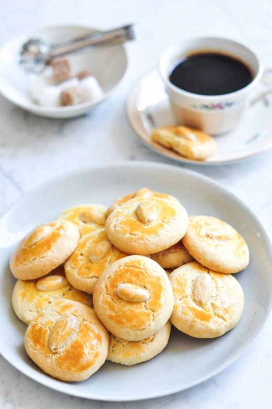 Chinese Almond Butter Cookies – Eat, Little Bird