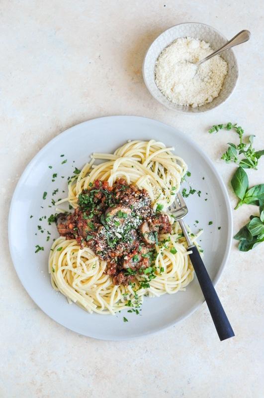 vietnamese spaghetti bolognese