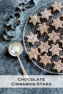 chocolate cinnamon stars