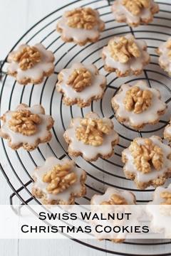 swiss walnut christmas cookies