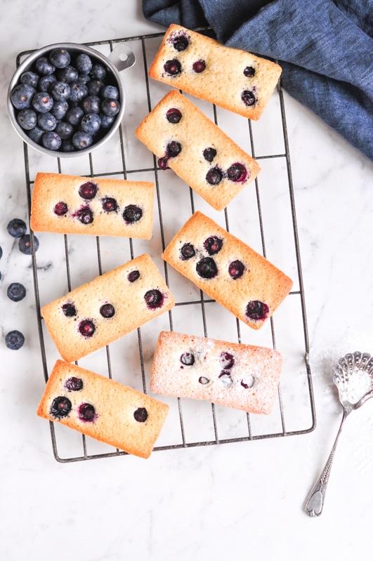 Blueberry Financiers – Eat, Little Bird