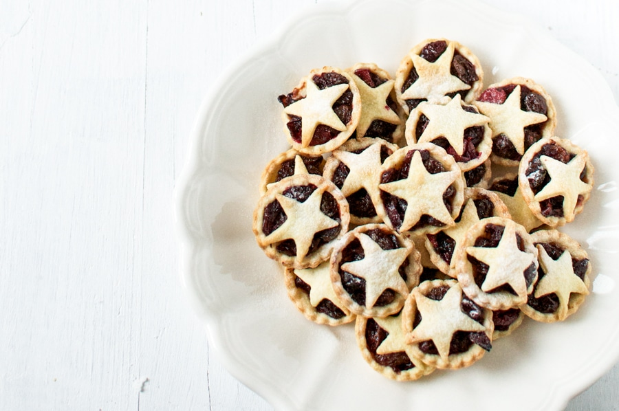 cranberry studded fruit mince pies 4