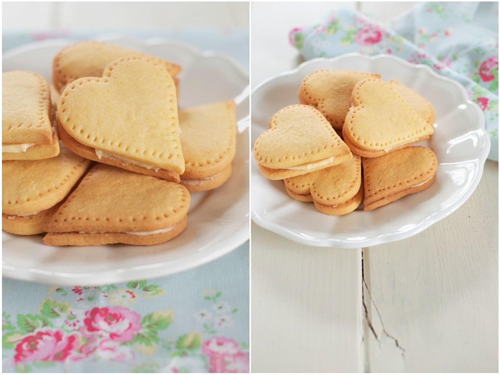 Custard & white chocolate biscuits recipe   BBC Good Food