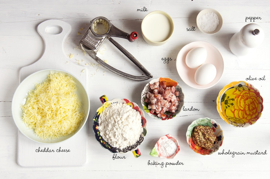 ingredients for savoury cake