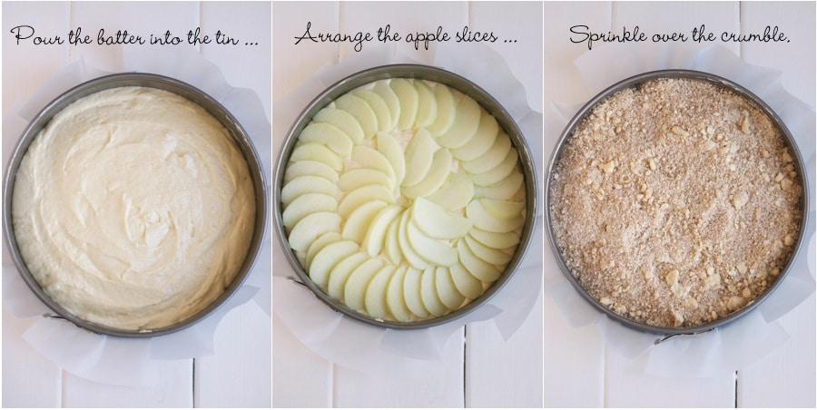 Apple Crumble Cake Recipe Nigella