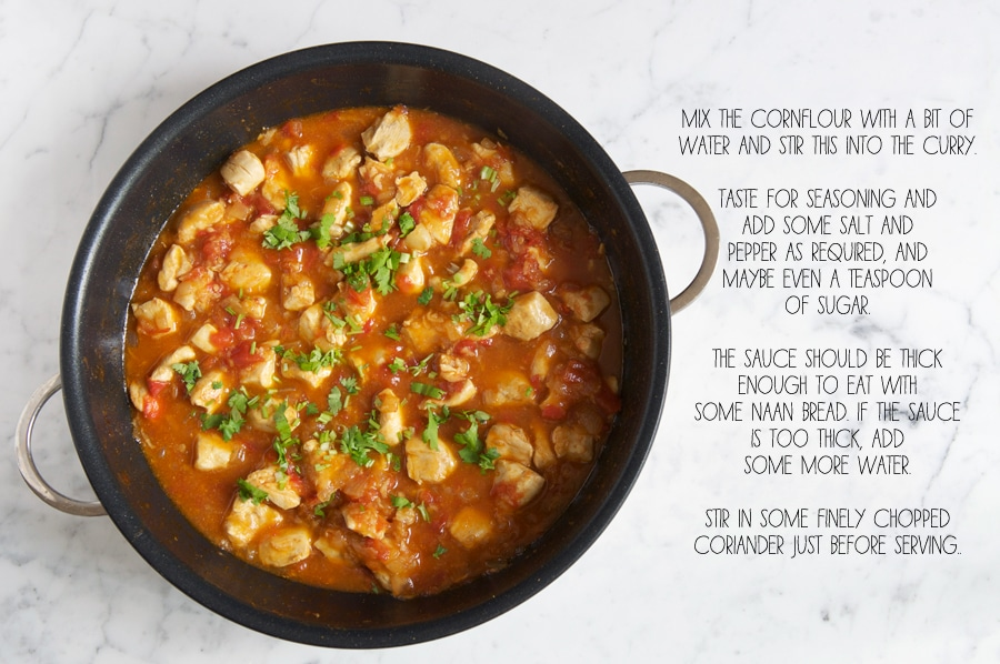 how to make indian chicken curry, step-by-step photos