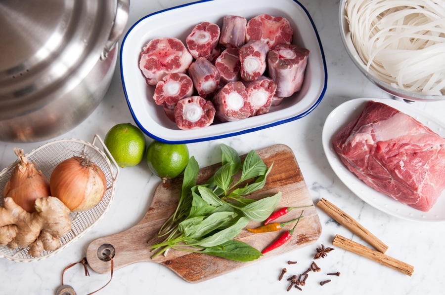 pho beef noodle soup ingredients 3