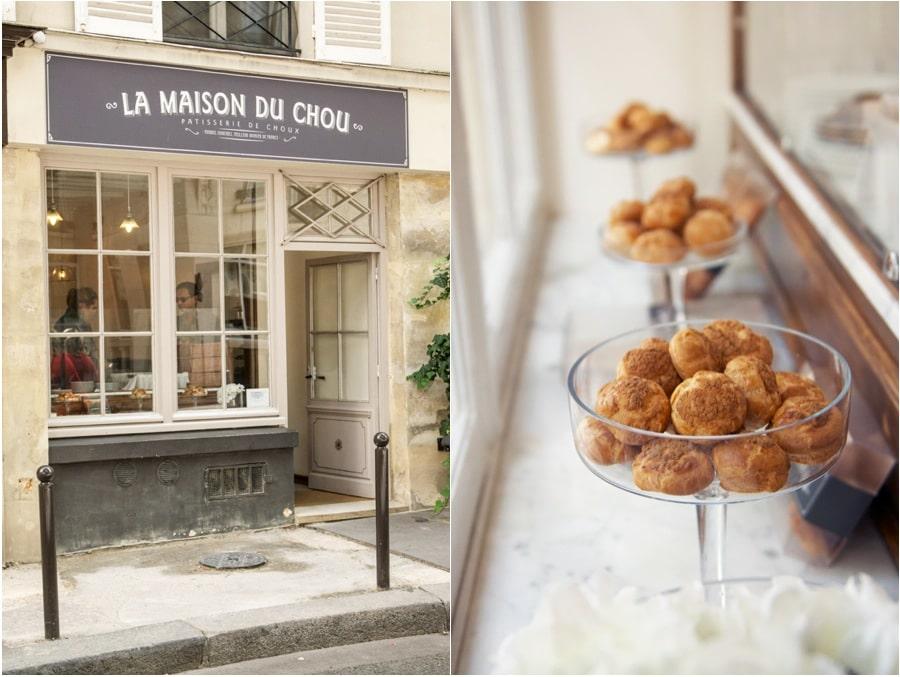 cream puffs from La Maison Du Chou