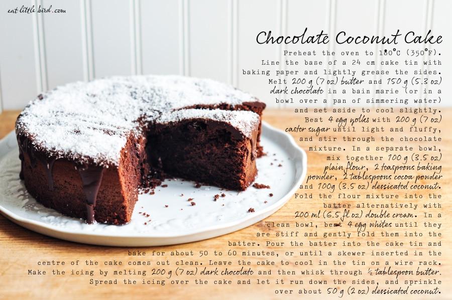 Chocolate Cake Recipe Cm Tin