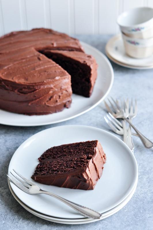 sour cream chocolate cake nigella lawson