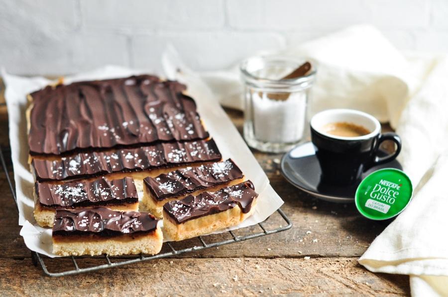 chocolate caramel slice nescafe dolce gusto