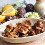 roman style fried artichokes
