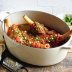 slow cooked lamb shanks red wine