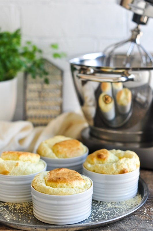 small cheese souffle with kenwood chef