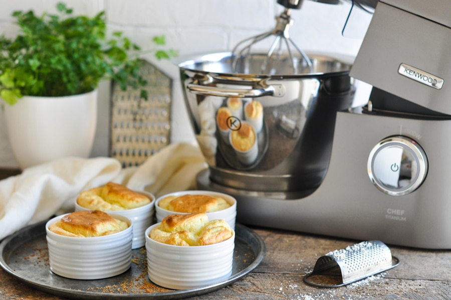 small cheese souffle with kenwood chef standmixer