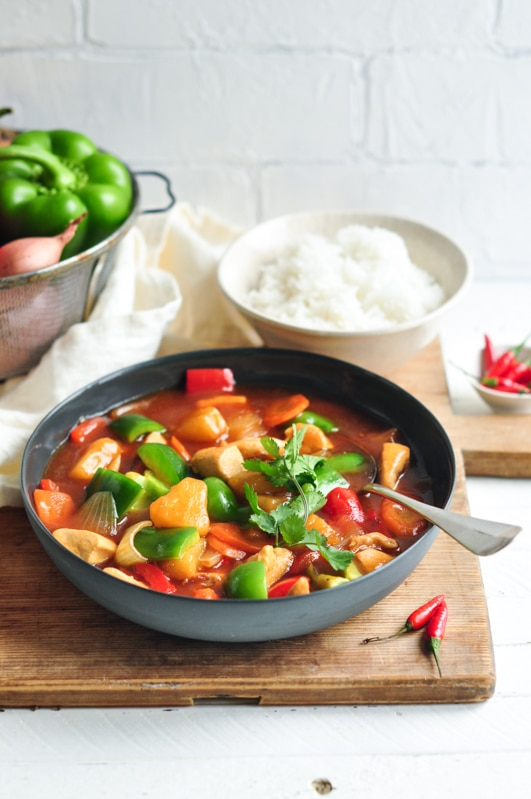 easy sweet sour chicken