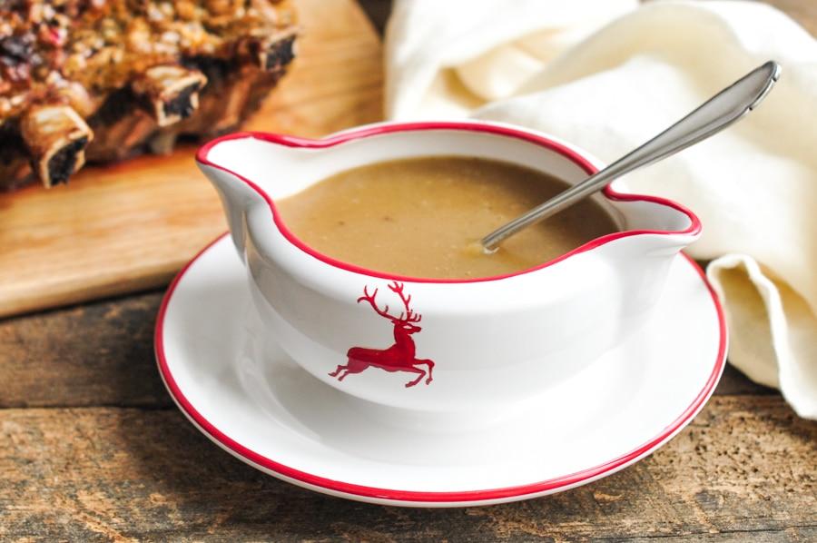 jamie oliver get ahead gravy in jug