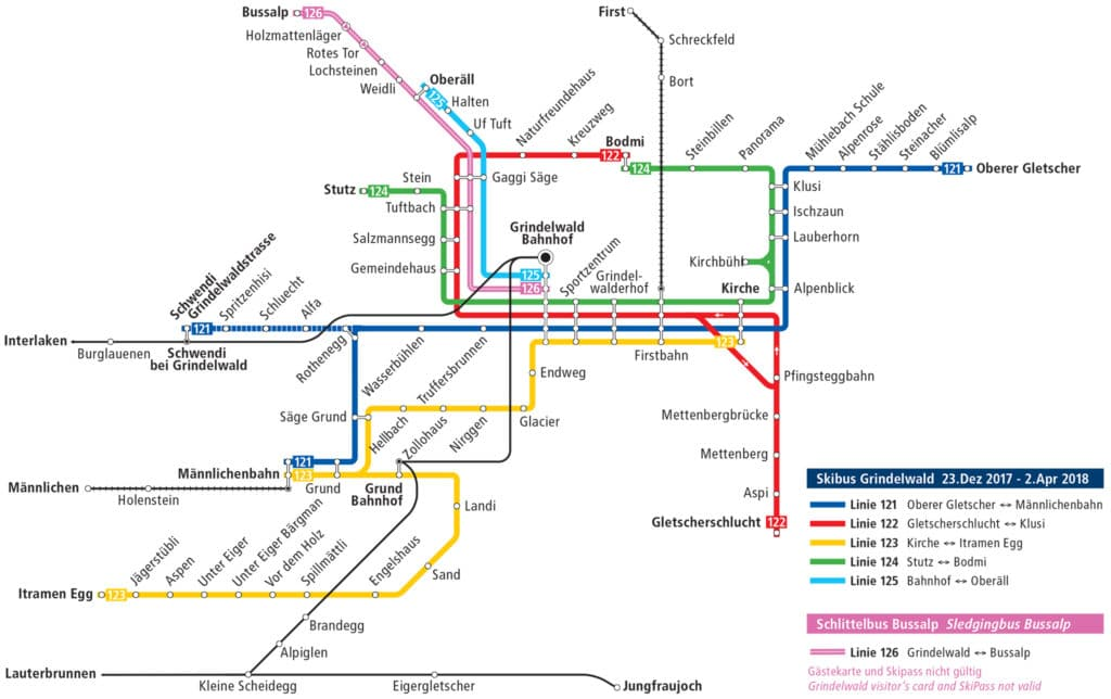 grindelwald bus map