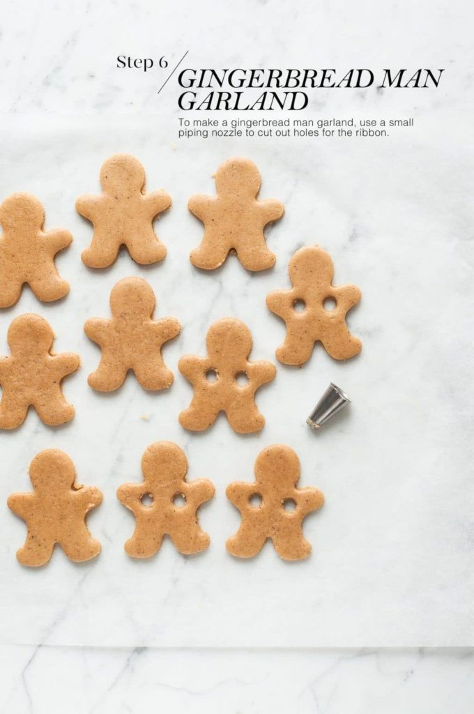how to make gingerbread man cookies | uncooked gingerbread man cookies on baking paper